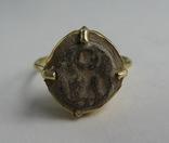 Перстень с изображением Святого Воина. фото 2