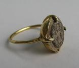 Перстень с изображением Святого Воина. фото 3