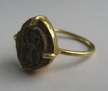 Перстень с изображением Святого Воина. фото 4