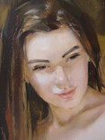 "Голубятникова Я.В. ""Александра"" 90см х 70см, фото №6"