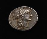 Республиканский динарий Рим серебро 3,93 г, фото №3