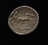 Республиканский динарий Рим серебро 3,93 г, фото №2