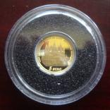 5 евро 2010 Франция 1100 лет Аббатству Клюни   золото 999  тираж 3861, фото №4