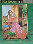 Вышивка девушка, фото №2