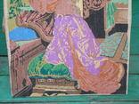 Вышивка девушка, фото №4