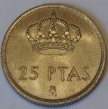 Іспанія 25 песет, 1983