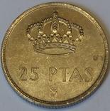 Іспанія 25 песет, 1984