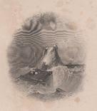 Старинная гравюра. 1835 год. Плот. Викерс. (29,8х21,5см.)., фото №2