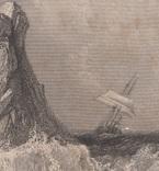 Старинная гравюра. 1835 год. Плот. Викерс. (29,8х21,5см.)., фото №4