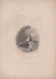Старинная гравюра. 1835 год. Плот. Викерс. (29,8х21,5см.)., фото №5