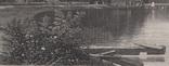 Старинная гравюра. 1870 год. Уста Мудны на Гудзоне. Девид Джонсон. (32х24см.)., фото №4