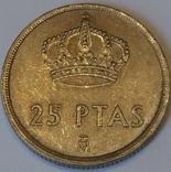 Іспанія 25 песет, 1982