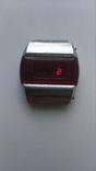 Часы Электроника-1 красная, фото №3