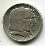 США 50 центов 1936 г. Серебро. 300-летие Лонг-Айленда, фото №2