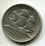США 50 центов 1936 г. Серебро. 300-летие Лонг-Айленда, фото №3