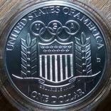 США 1 доллар 1992 г., фото №3