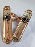 Дверные ручки латунь, фото №6