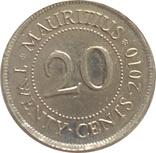 Маврикий 20 цент, фото №2