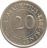 Маврикий 20 цент 2012, фото №2