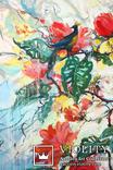 """""""Tropical flowers"""" большая картина маслом 1800х1350 мм Ю. Смаль, фото №3"""