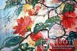 """""""Tropical flowers"""" большая картина маслом 1800х1350 мм Ю. Смаль, фото №4"""