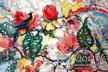 """""""Tropical flowers"""" большая картина маслом 1800х1350 мм Ю. Смаль, фото №5"""