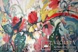 """""""Tropical flowers"""" большая картина маслом 1800х1350 мм Ю. Смаль, фото №7"""