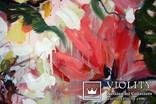 """""""Tropical flowers"""" большая картина маслом 1800х1350 мм Ю. Смаль, фото №9"""