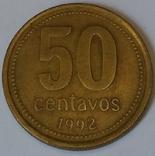 Аргентина 50 сентаво, 1992