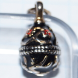 Кулон яйцо F.E.(Серебро,позолота,эмаль)., фото №6