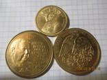 Памятные жетоны 5 штук, фото №6