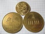 Памятные жетоны 5 штук, фото №7