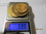 Памятные жетоны 5 штук, фото №9
