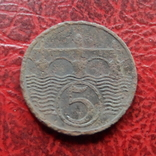 5 геллеров 1931  Чехословакия    ($7.1.5)~, фото №2
