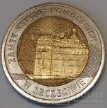 Польща 5 злотих, 2016 Відкрий Польщу - Штеттинський замок