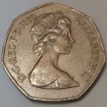 Велика Британія 50 нових пенсів, 1980