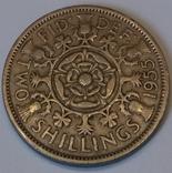 Велика Британія 2 шилінги (флорин), 1955