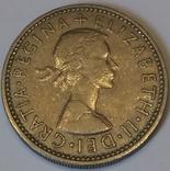 Велика Британія 1 шилінг, 1958 фото 2
