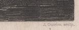 Старинная гравюра. 1836 годa. Дети рыбака.(18,5х12,5см.)., фото №11