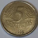 Бразилія 5 сентаво, 1995