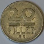Угорщина 20 філерів, 1977