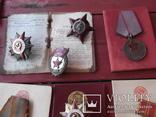 Комплект наград на героя ст лейтенанта с доками, фото №3