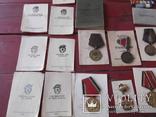 Комплект наград на героя ст лейтенанта с доками, фото №5