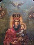Храмовая Икона Божья Матерь по мотивам Боровиковского, фото №3