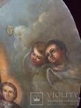 Храмовая Икона Божья Матерь по мотивам Боровиковского, фото №4