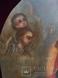Храмовая Икона Божья Матерь по мотивам Боровиковского, фото №5