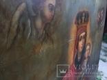 Храмовая Икона Божья Матерь по мотивам Боровиковского, фото №6