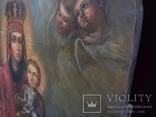 Храмовая Икона Божья Матерь по мотивам Боровиковского, фото №7