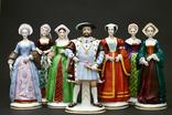 Генрих VIII Тюдор с женами. Sitzendorf, Германия