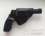 Револьвер Альфа 440 под патрон Флобера + кобура, фото №5